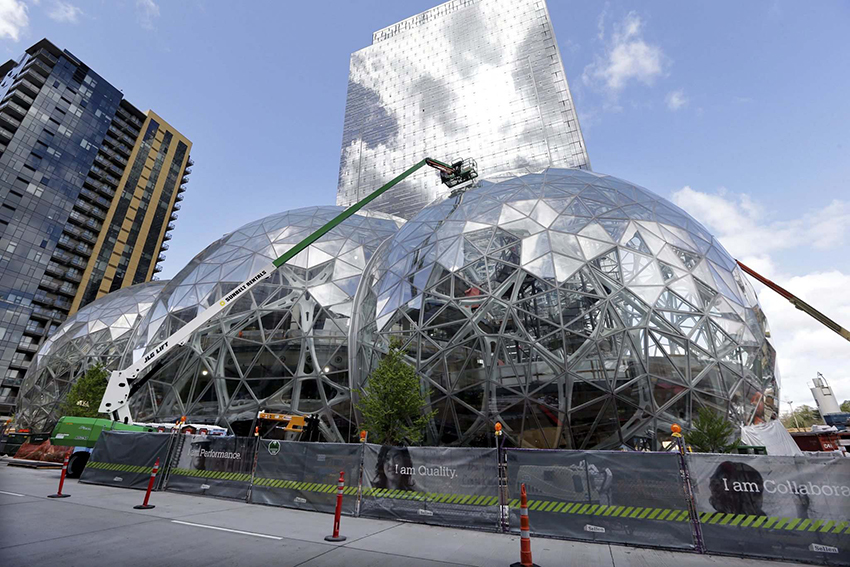 Work by architects at Amazon's Seattle campus provides insight into what makes cities attractive.