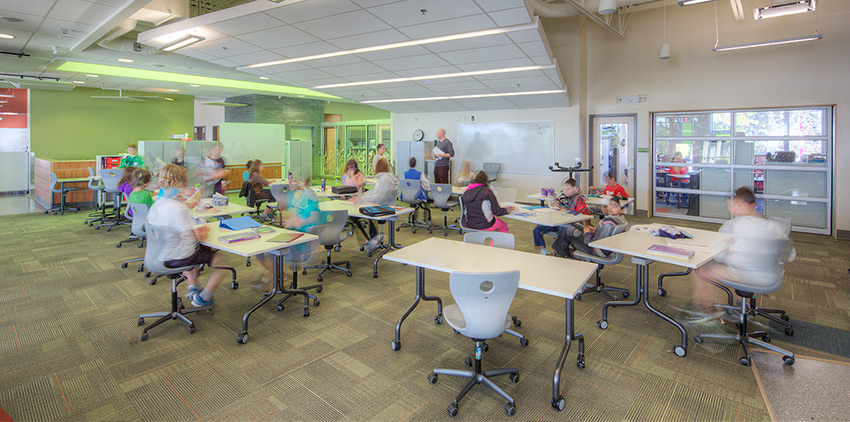 The interior design of classrooms - including work from Number TEN's architects - impacts impact educational opportunities.